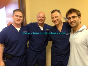 Dr. Haddon, Dr. Cicchinelli, Dr. Gunzy