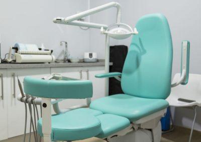 Zona del paciente en la consulta